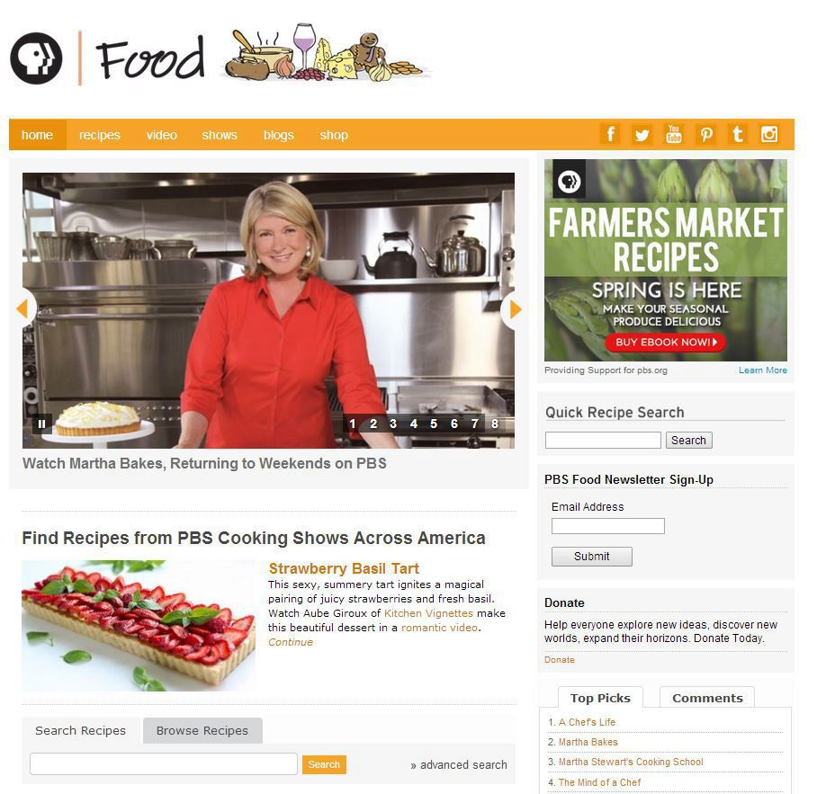 Learn more about PBS Food sponsorship opportunities