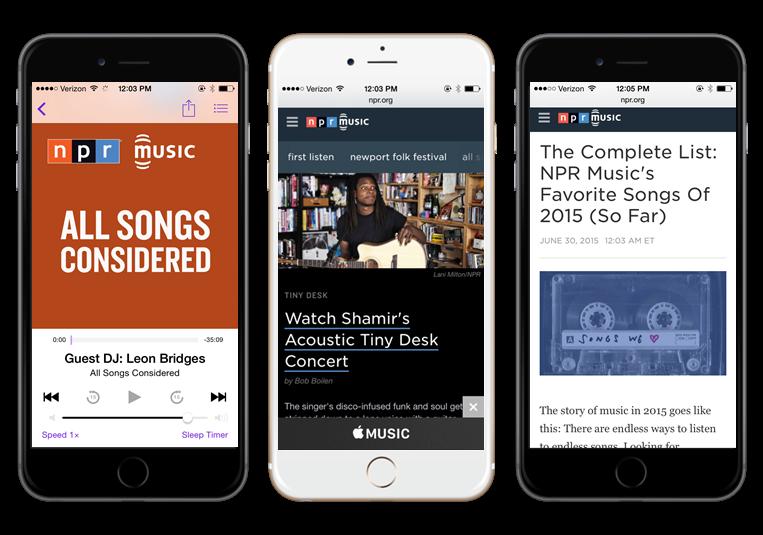 Sponsor NPR Music