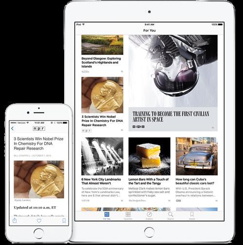NPR in Apple News