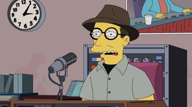 Bob Boilen on The Simpsons