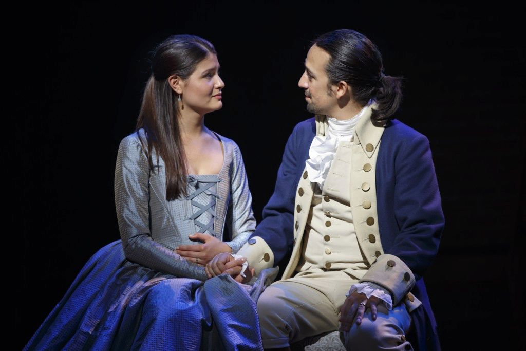 Phillipa Soo and Lin-Manuel Miranda from Great Performances: Hamiton's America