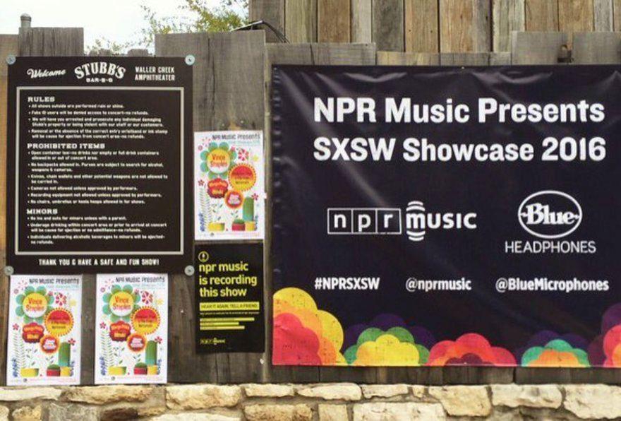 NPR Music Showcase at SXSW