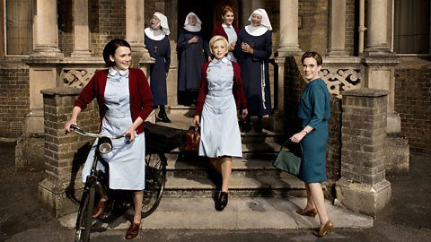 Don't Miss Call the Midwife Season 5 on PBS. Tune in this April for stories of midwifery and families in London's East End.