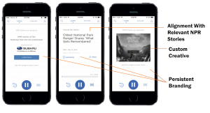 NPR.org's HTML 5 Audio Player, which debuted last month to industry acclaim, delivers a more powerful platform for sponsors & boosts performance for brands.